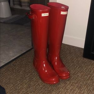 Hunter Shoes - Military Red Hunter Boots